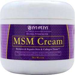 MRM MSM Cream 4 oz