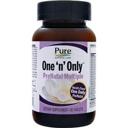 PURE ESSENCE LABS One 'n' Only PreNatal Multiple 30 tabs