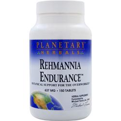PLANETARY FORMULAS Rehmannia Endurance (637mg) 150 tabs