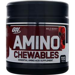 OPTIMUM NUTRITION Amino Chewables Wild Berry 100 chews