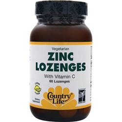 COUNTRY LIFE Zinc Lozenges Lemon 60 lzngs