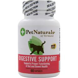 Pet Naturals Of Vermont Digestive Support for Cats 60 caps