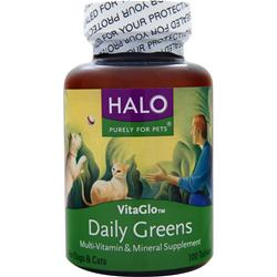 HALO VitaGlo Daily Greens 100 tabs