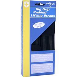 Harbinger Big Grip Padded Lifting Straps (No-Slip Grip) 2 strap