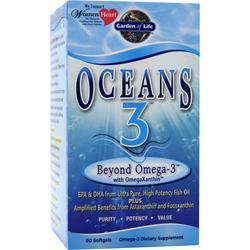 Garden Of Life Oceans 3 Beyond Omega-3 60 sgels