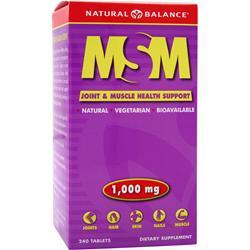 Natural Balance MSM 240 tabs