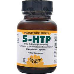 COUNTRY LIFE 5-HTP (50mg) 50 vcaps