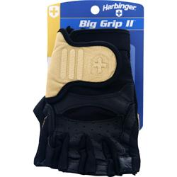 Harbinger Big Grip II Glove Natural/Black (Small) 2 glove