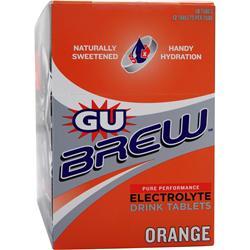 GU Brew Electrolyte Drink Tablets Orange 120 tabs