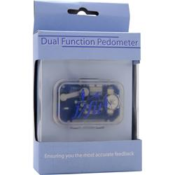 J-FIT Dual Function Pedometer 1 unit
