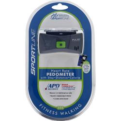 SPORTLINE Walking Advantage - Heart Rate Pedometer 355 1 unit