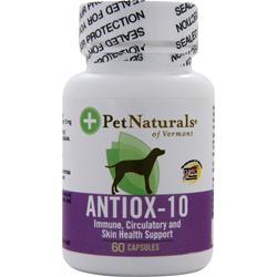 PET NATURALS OF VERMONT Antiox-10 For Dogs 60 caps