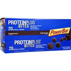 POWERBAR Protein Plus Bites Fudge Brownie 8 pckts