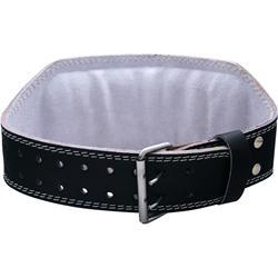 Harbinger 6 Inch Padded Leather Belt Black (Small) 23-32 waist 1 belt