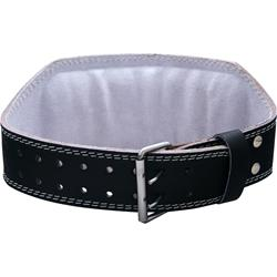 HARBINGER 6 Inch Padded Leather Belt Black (Medium) 28-37waist 1 belt
