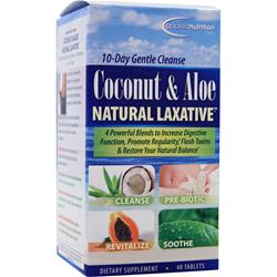 APPLIED NUTRITION Coconut & Aloe Natural Laxative 40 tabs
