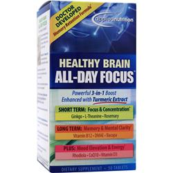 APPLIED NUTRITION Healthy Brain All-Day Focus 50 tabs