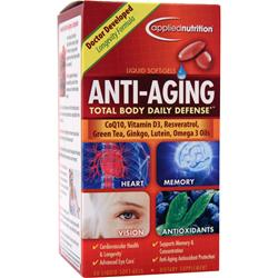 APPLIED NUTRITION Anti-Aging Total Body Daily Defense 50 sgels