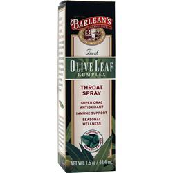 BARLEAN'S Olive Leaf Complex Throat Spray 1.5 fl.oz