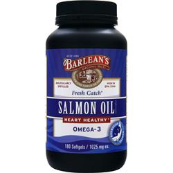 BARLEAN'S Fresh Catch Salmon Oil 180 sgels