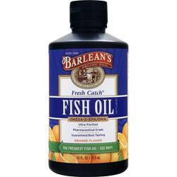 BARLEAN'S Fresh Catch Fish Oil Liquid Orange 16 fl.oz