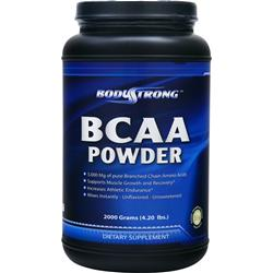 BodyStrong BCAA Powder Unflavored 2000 grams