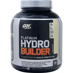 Optimum Nutrition Platinum Hydro Builder Vanilla Bean 4.41 lbs