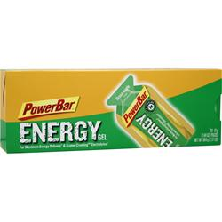 POWERBAR Energy Gel Green Apple w/ Caffeine 24 pckt