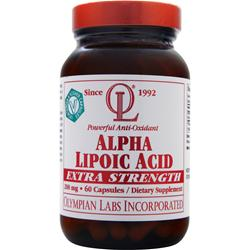 OLYMPIAN LABS Alpha Lipoic Acid (200mg) - Extra Strength 60 caps