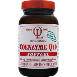 OLYMPIAN LABS Coenzyme Q10 (100mg) 90 sgels