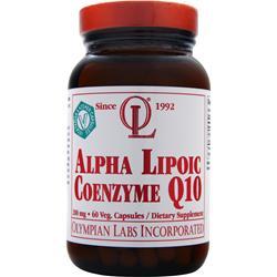 OLYMPIAN LABS Alpha Lipoic Coenzyme Q10 (200mg) 60 vcaps