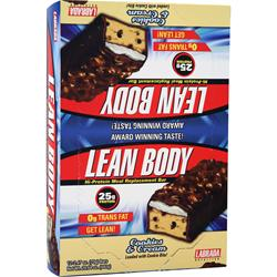 Labrada Lean Body Bar Cookies & Cream 12 bars