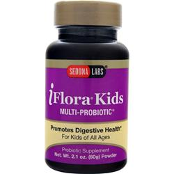 SEDONA LABS iFlora Kids Multi-Probiotic Powder Best by 8/14 2.1 oz