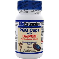 LIFE EXTENSION PQQ Caps with BioPQQ (10mg) 30 vcaps