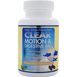 CLEAR PRODUCTS Motion & Digestive Aid 60 caps