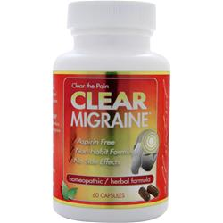 Clear Products Migraine 60 caps