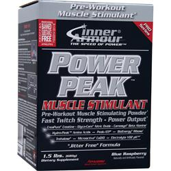 Inner Armour Power Peak - Muscle Stimulant Blue Raspberry 1.5 lbs