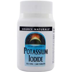Source Naturals Potassium Iodide (32.5mg) 240 tabs