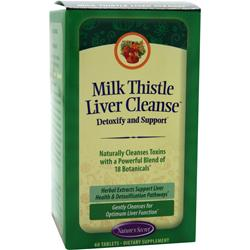 Nature's Secret Milk Thistle Liver Cleanse 60 tabs