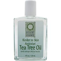 DESERT ESSENCE Kinder to Skin - Australian Tea Tree Oil 4 fl.oz