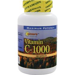 Nature's Science Vitamin C-1000 100 caps