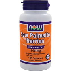 NOW Saw Palmetto Berries (550mg) 100 caps