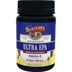 BARLEAN'S EPA (1000mg) Lemonade 60 sgels