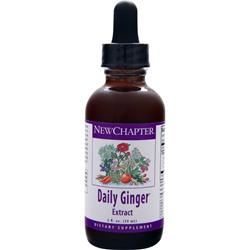 NEW CHAPTER Daily Ginger Extract 2 fl.oz