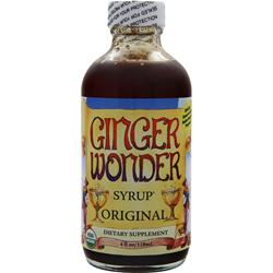 NEW CHAPTER Ginger Wonder Syrup - Original 4 fl.oz