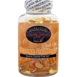 CONTROLLED LABS Orange OxiMega Fish Oil Citrus Flavor 120 sgels