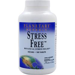 PLANETARY FORMULAS Stress Free (810mg) 180 tabs