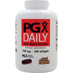 Natural Factors PGX Daily (750mg) 240 sgels