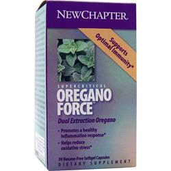 NEW CHAPTER Oregano Force 30 sgels