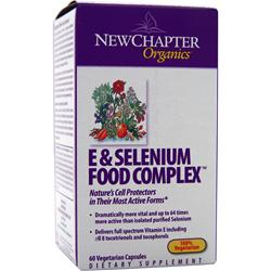 NEW CHAPTER E & Selenium Food Complex 60 vcaps